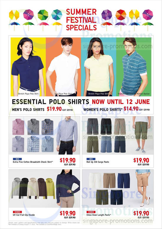 Uniqlo Highlights 6 Jun 2014