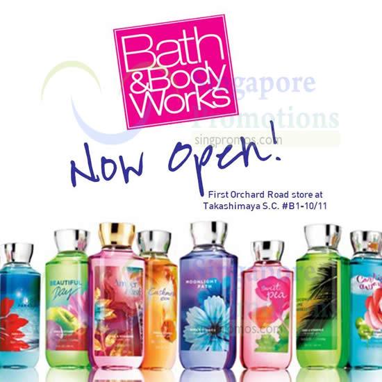 Bath & Body Works NEW Outlet @ Takashimaya 17 Jul 2014