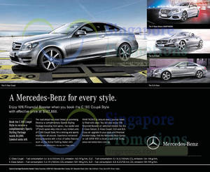 Featured image for Mercedes Benz C180 Offer 5 Jul 2014