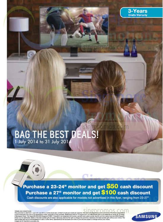 Monitors Promotions, Discounts