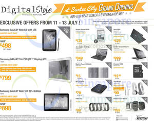 Featured image for Digital Style Grand Opening Offers @ Suntec City 11 – 13 Jul 2014