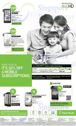 Featured image for Starhub Smartphones, Tablets, Cable TV & Mobile/Home Broadband Offers 19 Jul – 25 Jul 2014
