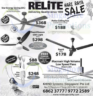 Ceiling fan warehouse may 2018 singpromos relite ceiling fans offers 16 jul 2014 aloadofball Image collections