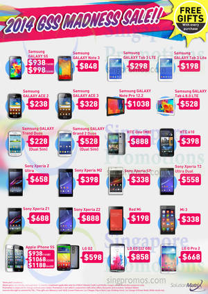Featured image for Solution Matrix Mobile Phones Offers 9 Jul 2014