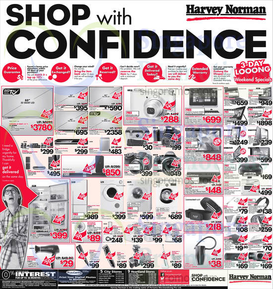Featured image for Harvey Norman Digital Cameras, Furniture & Appliances Offers 26 Jul - 1 Aug 2014