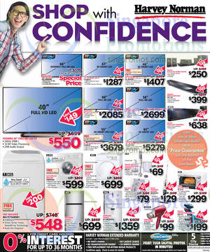 Featured image for Harvey Norman TVs, Digital Cameras, Notebooks & Appliances Offers 9 – 15 Jul 2014