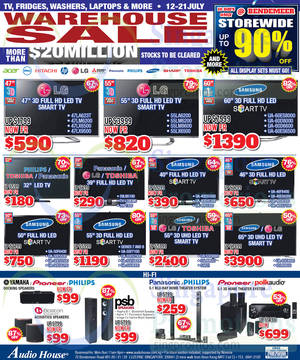Featured image for Audio House Warehouse Sale Offers @ Bendemeer 12 – 21 Jul 2014