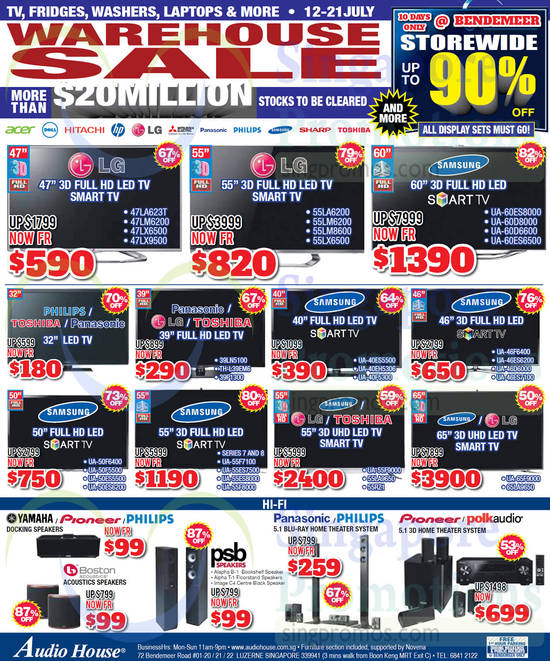 LG 47LA623T TV, LG 47LM6200 TV, LG 47LX6500 TV, LG 47LX9500TV, LG 55LA6200 TV, LG 55LM6200 TV, LG 55LM8600 TV, LG 55LX6500 TV, Samsung UA60ES8000 TV, Samsung UA60D8000 TV, Samsung UA60D6600 TV, Samsung UA60ES6500 TV, LG 39LN5100 TV, Panasonic TH-L39EM6 TV, Toshiba 39P1300 TV, Samsung UA40ES5500 TV, Samsung UA40EH5306 TV, Samsung UA40F5300 TV, Samsung UA46F6400 TV, Samsung UA46ES6200 TV, Samsung UA46D6000 TV, Samsung UA46ES7100 TV, Samsung UA50F6400 TV, Samsung UA50F5500 TV, Samsung UA50ES5500 TV, Samsung UA50ES6200 TV, Samsung UA55F7100 TV, Samsung UA55ES7500 TV, Samsung UA55ES8000 TV, Samsung UA55F8000 TV, Samsung UA55F9000 TV, LG 55LA9650 TV, Toshiba 55RZ1 TV, Samsung UA65F9000 TV and LG 65LA9650 TV