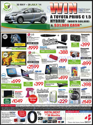 Featured image for Best Denki TV, Appliances & Other Electronics Offers 4 – 7 Jul 2014