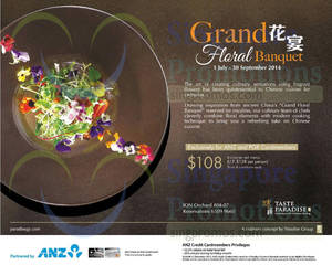 Featured image for Taste Paradise 6-Course Set Menu Promo For ANZ Cardmembers 1 Jul – 30 Sep 2014
