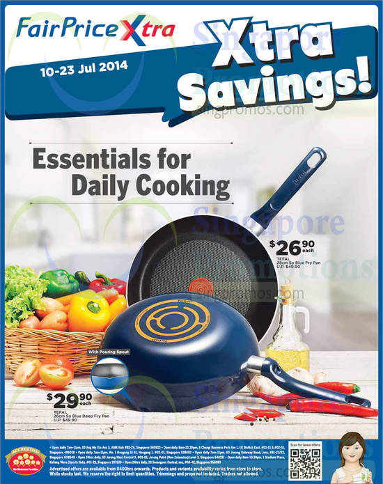 Featured image for NTUC Fairprice Wines, Toyomi Kitchen Appliances & Tefal Offers 10 - 23 Jul 2014