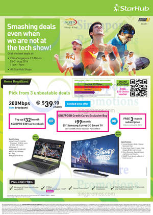 Featured image for Starhub Smartphones, Tablets, Cable TV & Mobile/Home Broadband Offers 23 – 31 Aug 2014