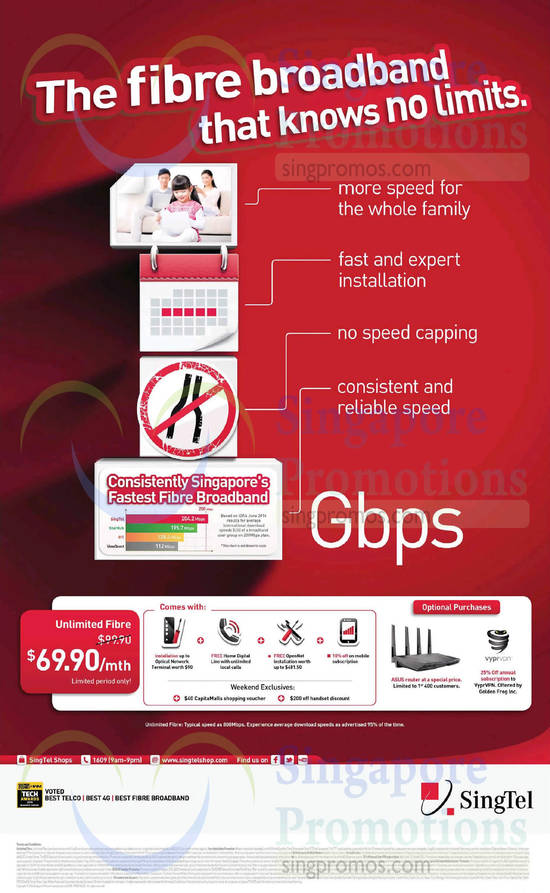 30 Aug 69.90 Unlimited Fibre, Optional Purchases