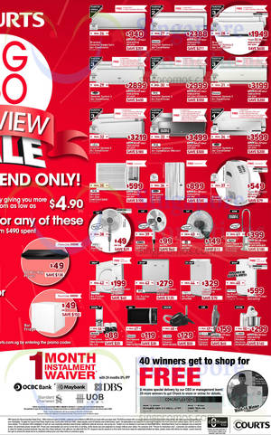 Featured image for Courts SG 50 Preview Sale 2 – 3 Aug 2014