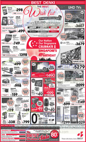 Featured image for Best Denki TV, Appliances & Other Electronics Offers 9 – 11 Aug 2014