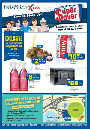 Featured image for NTUC Fairprice Electronics, Groceries, Home Appliances & Health Offers 14 – 27 Aug 2014