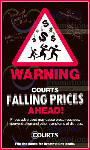 Featured image for Courts Falling Prices Offers 16 – 17 Aug 2014
