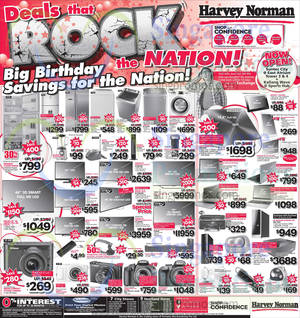 Featured image for Harvey Norman Digital Cameras, TVs , Appliances & Other Electronics Offers 23 – 29 Aug 2014