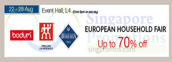 Isetan European Household Fair 19 Aug 2014