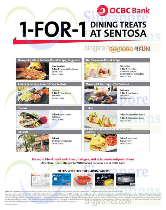 Sentosa Restaurants 1 Aug 2014