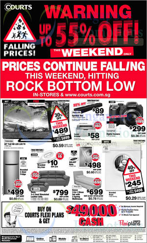 Featured image for Courts Falling Prices Offers 23 – 24 Aug 2014