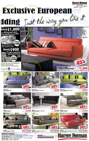 Featured image for Harvey Norman Digital Cameras, Furniture & Appliances Offers 30 Aug – 5 Sep 2014