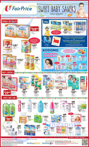 Featured image for NTUC Fairprice Electronics, Groceries, Home Appliances & Wines 28 Aug – 10 Sep 2014