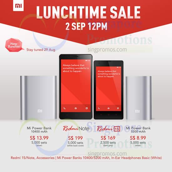 Xiaomi 30 Aug 2014
