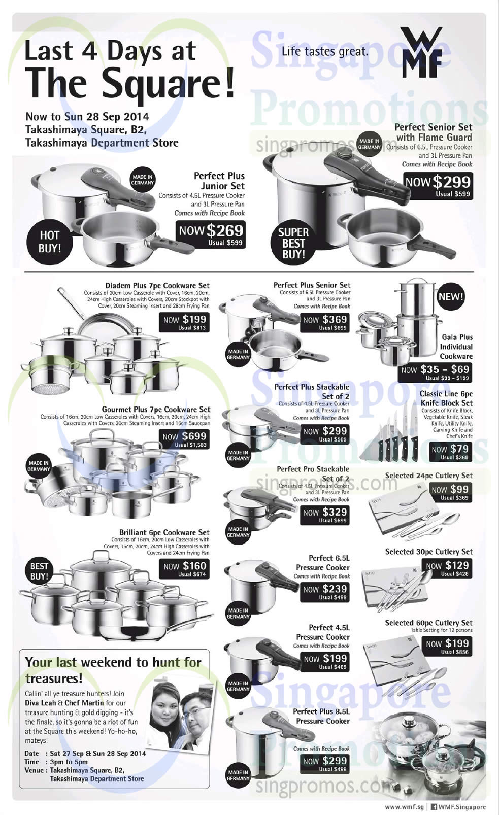 25 sep wmf cookware sets perfect plus diadem plus - Super gourmet plus ...
