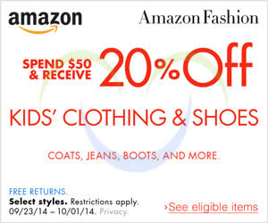 coupon code amazon clothing
