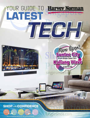 Featured image for Harvey Norman TVs, Notebooks & Electronics Offers 9 – 28 Sep 2014