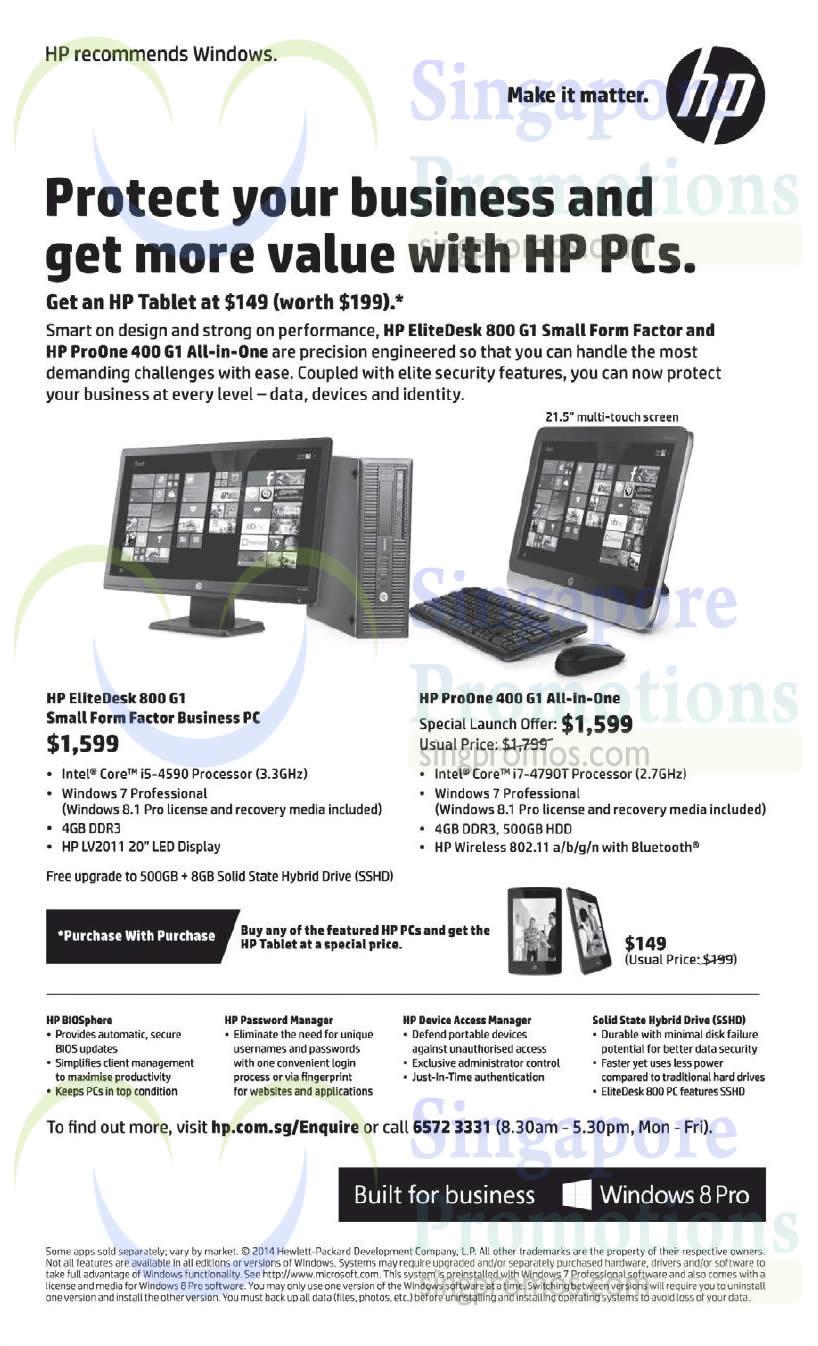 HP 17 Sep 2014 » HP Business Desktop PC Offers 17 Sep 2014