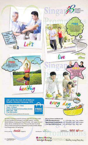 Featured image for National Healthy Lifestyle Campaign 3 – 26 Oct 2014