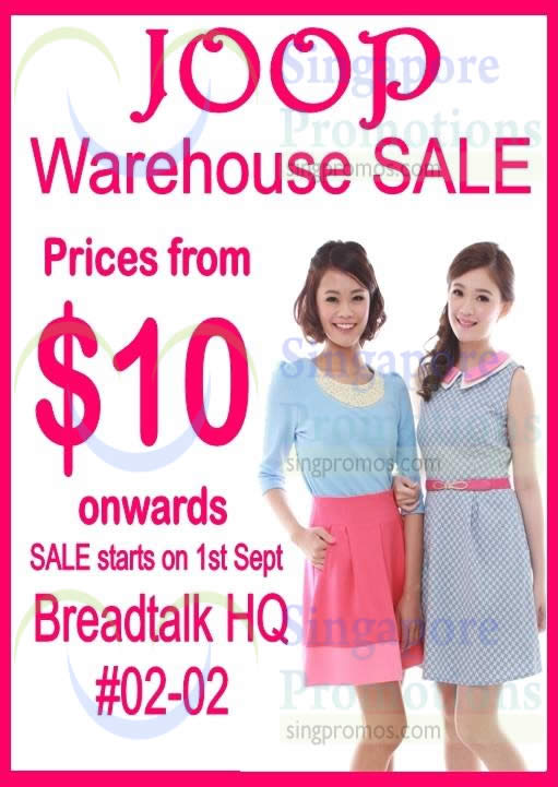 joop warehouse sale breadtalk ihq 1 sep 2014. Black Bedroom Furniture Sets. Home Design Ideas