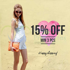 Featured image for MDS Collections 15% OFF Storewide Promo 30 Sep 2014