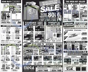 Featured image for Mega Discount Store TVs, Appliances & Air Conditioner Offers 27 Sep 2014