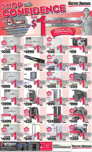 Featured image for Harvey Norman Digital Cameras, Furniture & Appliances Offers 6 – 12 Sep 2014