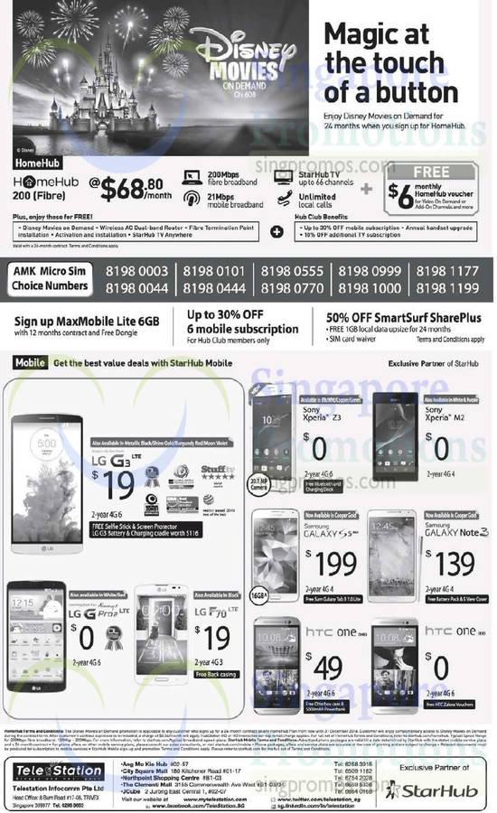 Telestation LG G3, LG G Pro, LG F70, Sony Xperia Z3, Sony Xperia M2, Samsung Galaxy S5, Samsung Galaxy Note 3, HTC One M8, HTC One E8