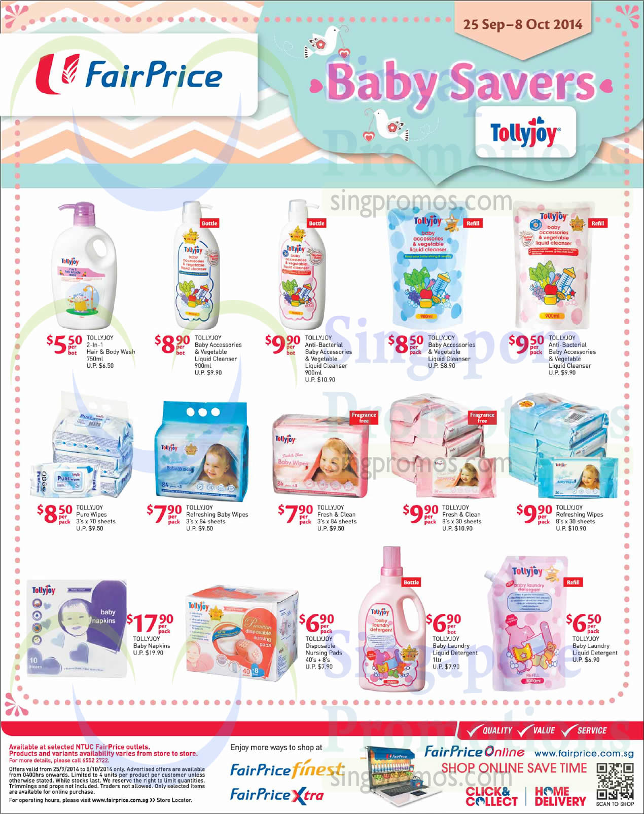 Ntuc Fairprice Baby Savers It Gadgets Lightings Pest Busters