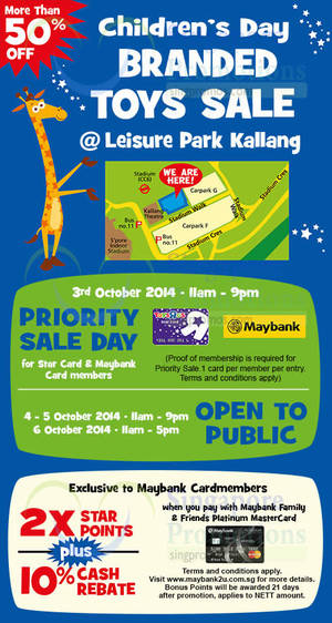 """Featured image for Toys """"R"""" Us Branded Toys SALE 4 – 6 Oct 2014"""