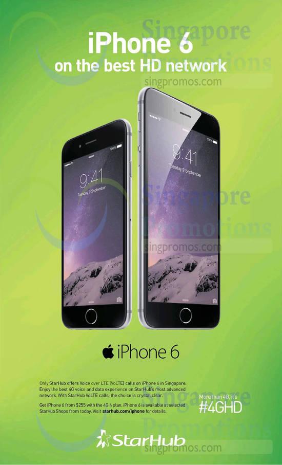 VoLTE on Apple iPhone 6, Apple iPhone 6 Plus
