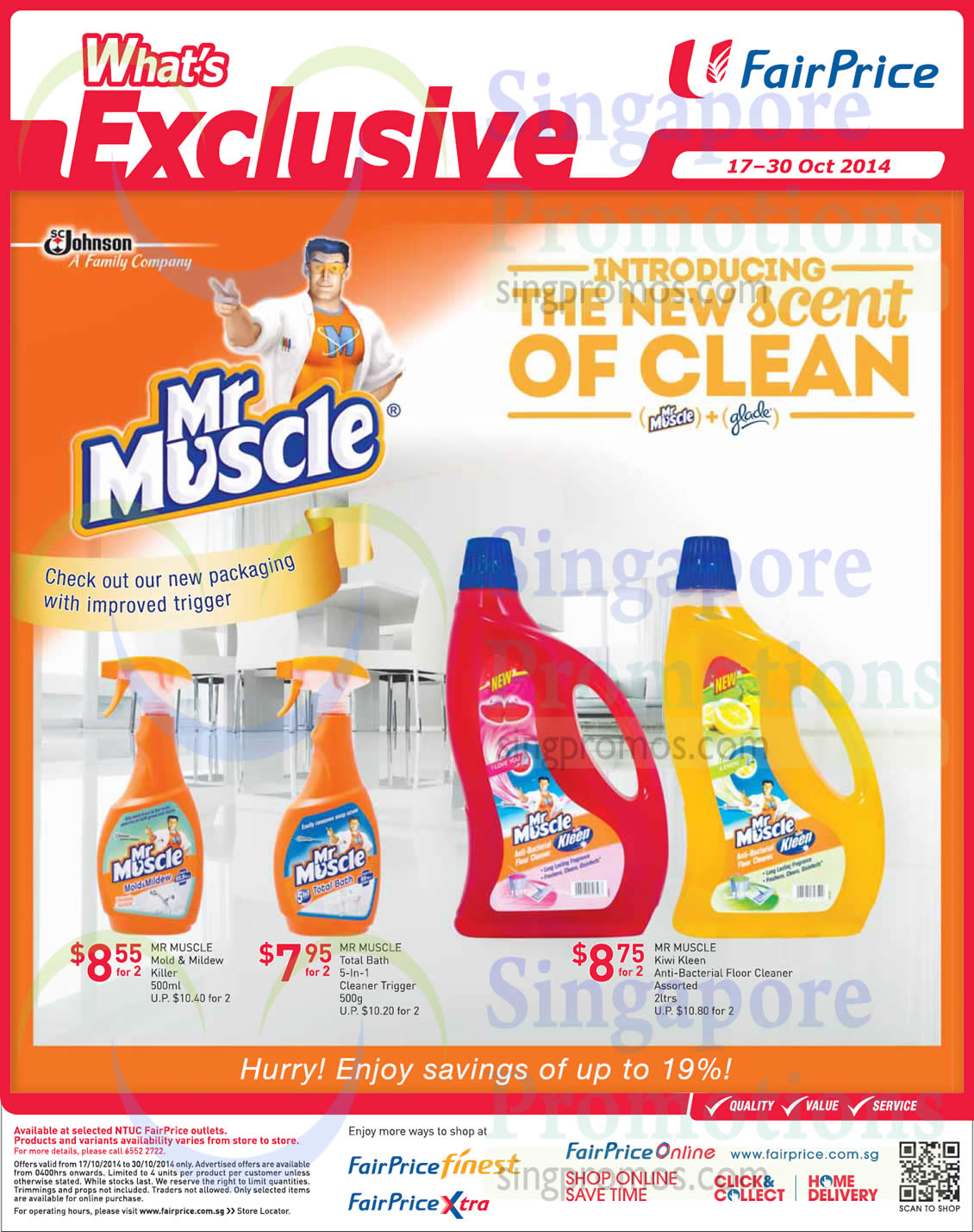 17 Oct Mr.Muscle Mold n Mildew Killer, Bath Cleaner, Floor Cleaner