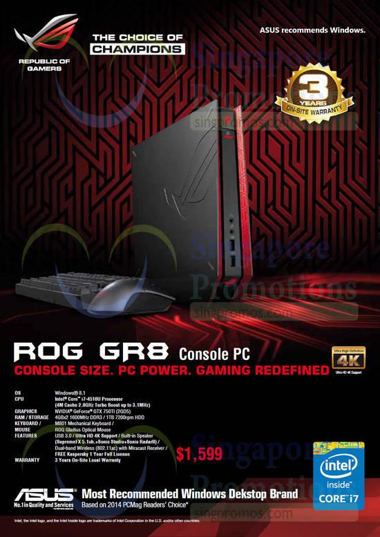 ASUS ROG-GR8 Desktop PC