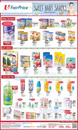 Featured image for NTUC Fairprice Baby Savers, Groceries & Wines Offers 30 Oct – 12 Nov 2014
