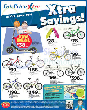 Featured image for NTUC Fairprice Electronics, Groceries, Bicycles & Wines 23 Oct – 5 Nov 2014
