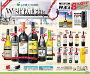 Featured image for Cold Storage International Wine Fair @ Vivocity 6 – 12 Oct 2014