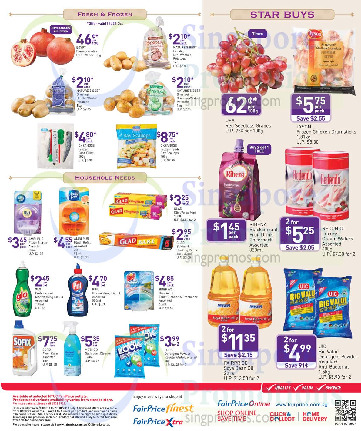 Deepavali Specials Fresh, Frozen, Household Needs, Star Buys