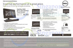 Featured image for Dell Business Desktop PCs & Notebook Offers 1 Oct 2014