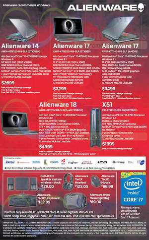 Featured image for Dell Alienware Offers 30 Oct 2014