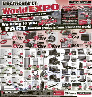 Featured image for Harvey Norman Digital Cameras, Furniture & Appliances Offers 25 – 31 Oct 2014